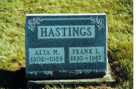 HASTINGS, ALTA M. - Auglaize County, Ohio | ALTA M. HASTINGS - Ohio Gravestone Photos