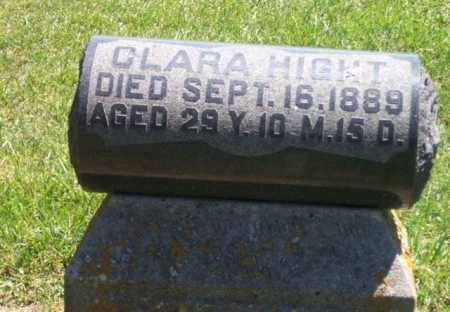 HIGHT, CLARA - Auglaize County, Ohio | CLARA HIGHT - Ohio Gravestone Photos