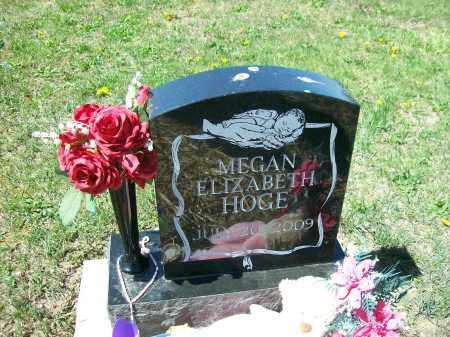 HOGE, MEGAN ELIZABETH - Auglaize County, Ohio | MEGAN ELIZABETH HOGE - Ohio Gravestone Photos