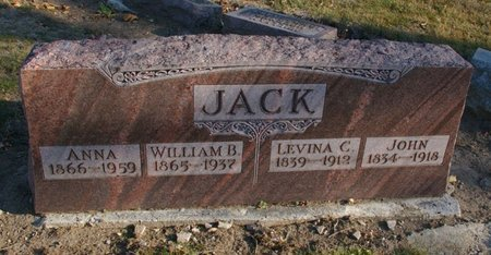 WOLFE JACK, ANNA JEANETTE - Auglaize County, Ohio | ANNA JEANETTE WOLFE JACK - Ohio Gravestone Photos
