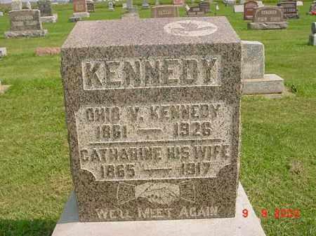 KENNEDY, CATHARINE - Auglaize County, Ohio   CATHARINE KENNEDY - Ohio Gravestone Photos