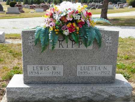 KIPP, LUETTA N - Auglaize County, Ohio | LUETTA N KIPP - Ohio Gravestone Photos