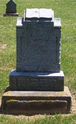 KIZER, WILLIAM - Auglaize County, Ohio | WILLIAM KIZER - Ohio Gravestone Photos