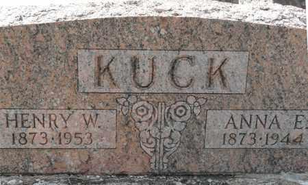 KUCK, HENRY WILHELM - Auglaize County, Ohio | HENRY WILHELM KUCK - Ohio Gravestone Photos