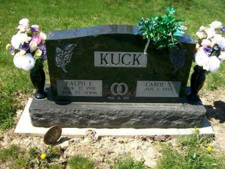KUCK, RALPH F. - Auglaize County, Ohio | RALPH F. KUCK - Ohio Gravestone Photos