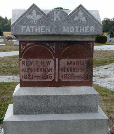 KUCKHERMAN, FREDERICK HEINRICH WILHELM - Auglaize County, Ohio | FREDERICK HEINRICH WILHELM KUCKHERMAN - Ohio Gravestone Photos
