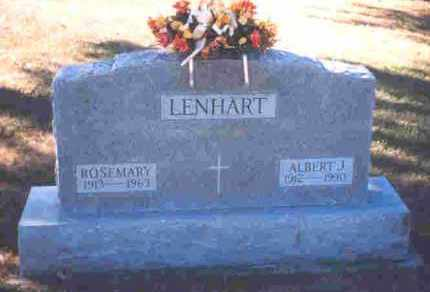 LENHART, ALBERT J. - Auglaize County, Ohio | ALBERT J. LENHART - Ohio Gravestone Photos
