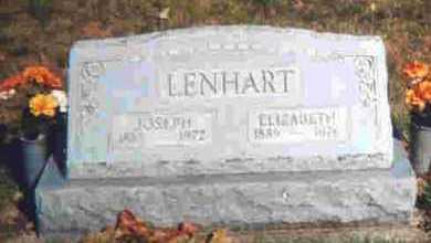 LENHART, JOSEPH A. - Auglaize County, Ohio | JOSEPH A. LENHART - Ohio Gravestone Photos