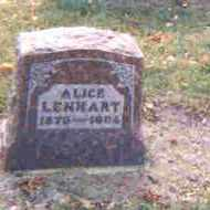 LENHART, OSIE ALICE - Auglaize County, Ohio | OSIE ALICE LENHART - Ohio Gravestone Photos