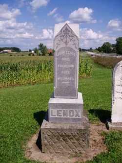 LENOX, JOHN - Auglaize County, Ohio | JOHN LENOX - Ohio Gravestone Photos