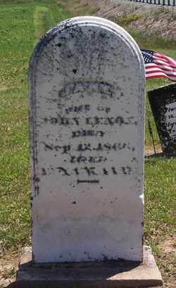 LENOX, JANE - Auglaize County, Ohio | JANE LENOX - Ohio Gravestone Photos