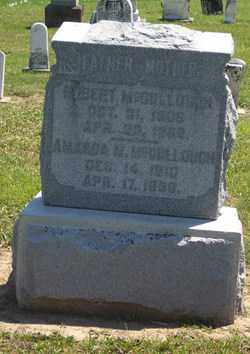 MCCULLOUGH, AMANDA - Auglaize County, Ohio | AMANDA MCCULLOUGH - Ohio Gravestone Photos