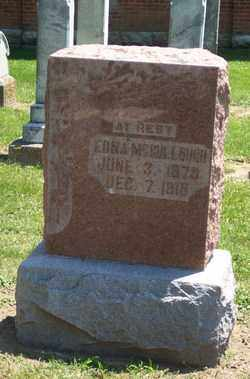 MCCULLOUGH, EDNA - Auglaize County, Ohio | EDNA MCCULLOUGH - Ohio Gravestone Photos