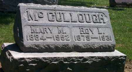 MCCULLOUGH, ROY L. - Auglaize County, Ohio | ROY L. MCCULLOUGH - Ohio Gravestone Photos