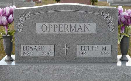 OPPERMAN, EDWARD JOHN - Auglaize County, Ohio | EDWARD JOHN OPPERMAN - Ohio Gravestone Photos
