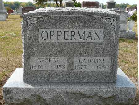 OPPERMAN, GEORGE HERMAN FRANK - Auglaize County, Ohio | GEORGE HERMAN FRANK OPPERMAN - Ohio Gravestone Photos