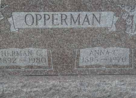 NOLTE OPPERMAN, ANNA CHRISTENA - Auglaize County, Ohio | ANNA CHRISTENA NOLTE OPPERMAN - Ohio Gravestone Photos