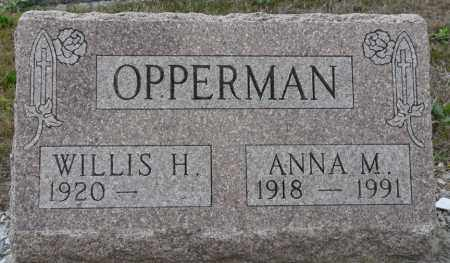 OPPERMAN, ANNA MARY - Auglaize County, Ohio | ANNA MARY OPPERMAN - Ohio Gravestone Photos