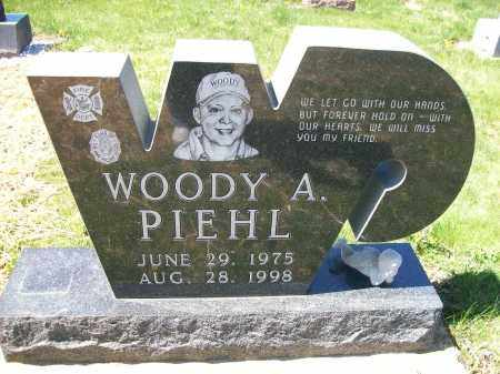 PIEHL, WOODY A. - Auglaize County, Ohio | WOODY A. PIEHL - Ohio Gravestone Photos