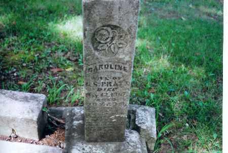 PRATT, CAROLINE - Auglaize County, Ohio | CAROLINE PRATT - Ohio Gravestone Photos