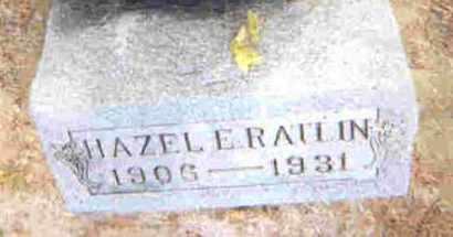 RATLIN, HAZEL E. - Auglaize County, Ohio | HAZEL E. RATLIN - Ohio Gravestone Photos