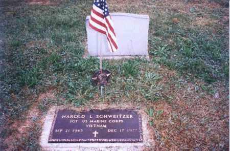 SCHWEITZER, HAROLD L - Auglaize County, Ohio | HAROLD L SCHWEITZER - Ohio Gravestone Photos