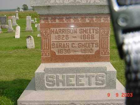 SHEETS, HARRISON - Auglaize County, Ohio | HARRISON SHEETS - Ohio Gravestone Photos