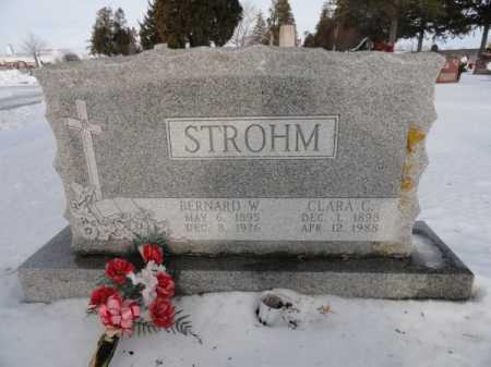 STROHM, BERNARD W. - Auglaize County, Ohio | BERNARD W. STROHM - Ohio Gravestone Photos