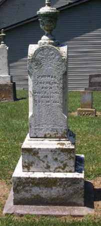 THOMAS C, COCHLIN - Auglaize County, Ohio   COCHLIN THOMAS C - Ohio Gravestone Photos