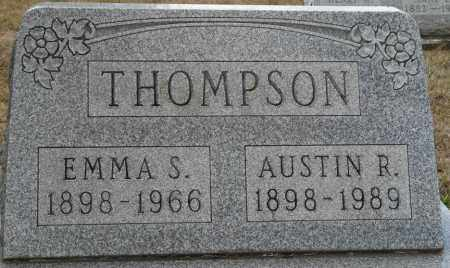 THOMPSON, EMMA S - Auglaize County, Ohio | EMMA S THOMPSON - Ohio Gravestone Photos