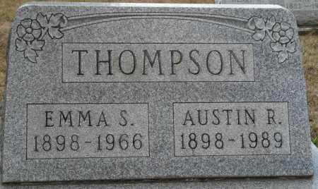 THOMPSON, AUSTIN R - Auglaize County, Ohio | AUSTIN R THOMPSON - Ohio Gravestone Photos
