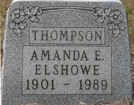 THOMPSON, AMANDA ELIZABETH - Auglaize County, Ohio | AMANDA ELIZABETH THOMPSON - Ohio Gravestone Photos