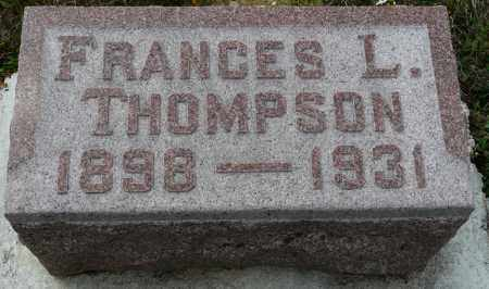 OPPERMAN THOMPSON, FRANCES LEONA - Auglaize County, Ohio | FRANCES LEONA OPPERMAN THOMPSON - Ohio Gravestone Photos