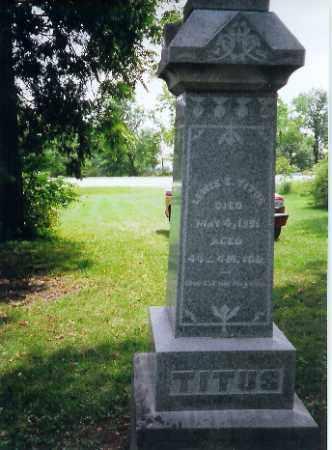 TITUS, LEWIS - Auglaize County, Ohio | LEWIS TITUS - Ohio Gravestone Photos