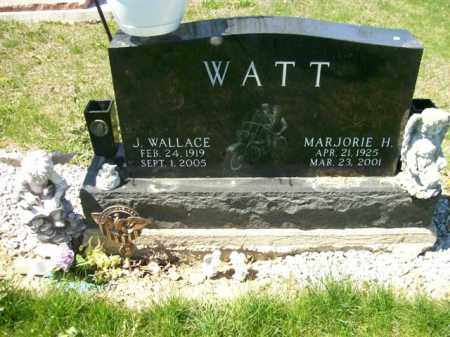 WATT, MARJORIE H. - Auglaize County, Ohio | MARJORIE H. WATT - Ohio Gravestone Photos