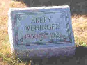 LENHART WEHINGER, APPOLONIA-ABIGAIL - Auglaize County, Ohio | APPOLONIA-ABIGAIL LENHART WEHINGER - Ohio Gravestone Photos
