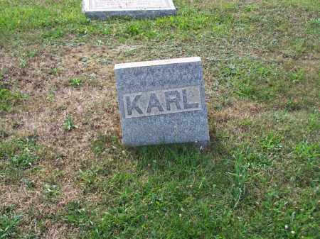AULT, KARL - Belmont County, Ohio | KARL AULT - Ohio Gravestone Photos