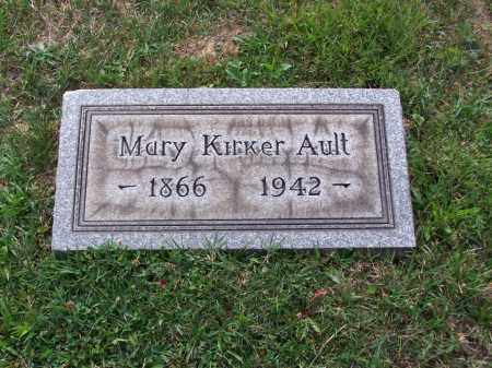 AULT, MARY - Belmont County, Ohio   MARY AULT - Ohio Gravestone Photos