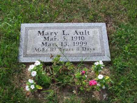AULT, MARY L - Belmont County, Ohio | MARY L AULT - Ohio Gravestone Photos