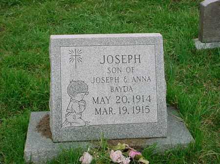 BAYDA, JOSEPH - Belmont County, Ohio | JOSEPH BAYDA - Ohio Gravestone Photos