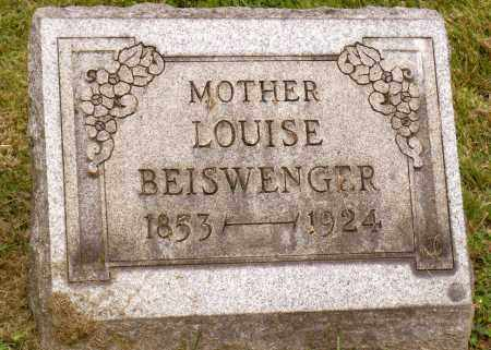 BEISWENGER, LOUISE - Belmont County, Ohio | LOUISE BEISWENGER - Ohio Gravestone Photos
