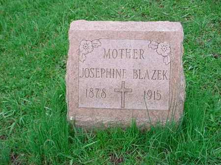 BLAZEK, JOSEPHINE - Belmont County, Ohio | JOSEPHINE BLAZEK - Ohio Gravestone Photos