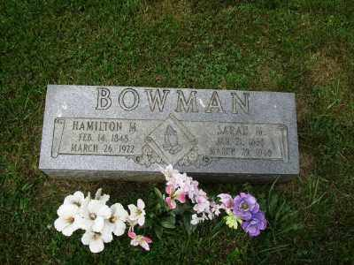 GALLOWAY BOWMAN, SARAH MELISSA - Belmont County, Ohio | SARAH MELISSA GALLOWAY BOWMAN - Ohio Gravestone Photos