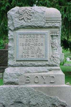 BOYD, GEORGE W. - Belmont County, Ohio | GEORGE W. BOYD - Ohio Gravestone Photos