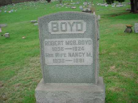 BOYD, NANCY M. - Belmont County, Ohio | NANCY M. BOYD - Ohio Gravestone Photos