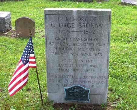 BROKAW, GEORGE - Belmont County, Ohio | GEORGE BROKAW - Ohio Gravestone Photos