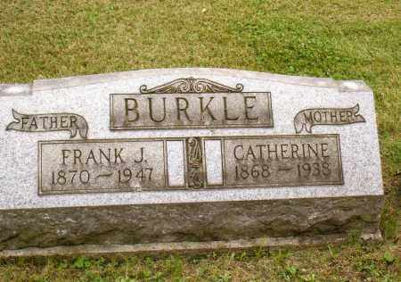 BURKLE, CATHERINE - Belmont County, Ohio | CATHERINE BURKLE - Ohio Gravestone Photos