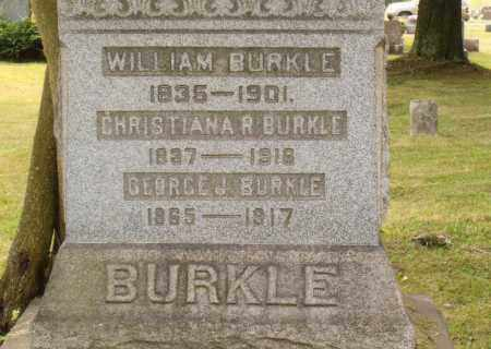 BURKLE, WILLIAM - Belmont County, Ohio | WILLIAM BURKLE - Ohio Gravestone Photos