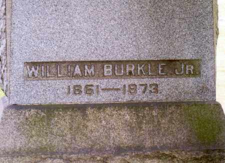 BURKLE, WILLIAM JR - Belmont County, Ohio | WILLIAM JR BURKLE - Ohio Gravestone Photos