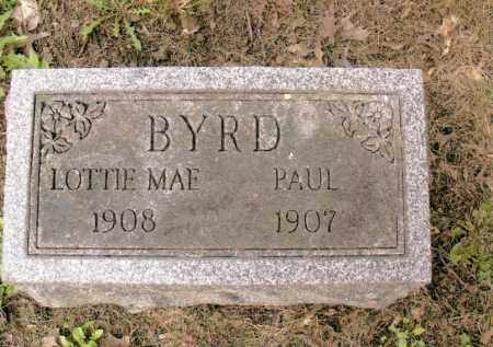 BYRD, PAUL - Belmont County, Ohio | PAUL BYRD - Ohio Gravestone Photos